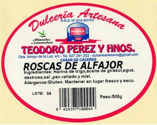 Roscas de alfajor